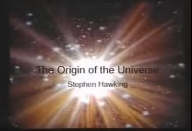 The origin of the universe, Stephen Hawking, Quran