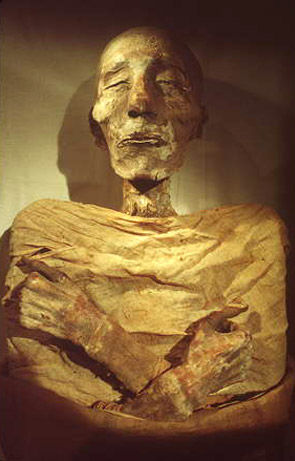 The Mummy of Merneptah son of Ramses ii