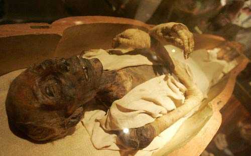 The Mummy of Ramses ii